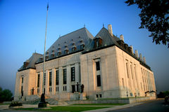 Supreme Court of Canada royalty free stock photos