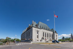 Supreme Court of Canada building Royalty Free Stock Image