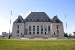 Supreme Court of Canada, Ottawa Royalty Free Stock Images