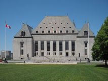 Supreme Court of Canada Royalty Free Stock Photography