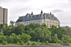 Supreme Court of Canada view from water Stock Image