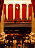 The Supreme Court. The chamber of the Supreme Court of the United States royalty free stock images