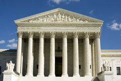 Supreme Court by day Stock Photography