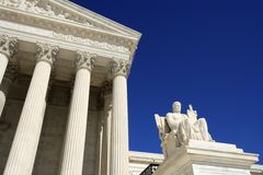 Supreme Court Detail Royalty Free Stock Photo