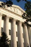 Supreme Court Facade Royalty Free Stock Photos