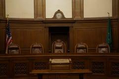 Supreme court. The inside of Washington States supreme court Stock Photos