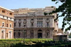 Supreme Court of Justice Rome Italy Royalty Free Stock Photo