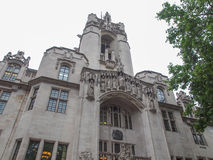 Supreme Court London. The Supreme Court final court of appeal in Parliament Square London Royalty Free Stock Image