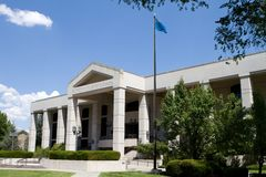 Supreme Court Of Nevada. Building located in Carson City, NV against a blue sky Royalty Free Stock Photo