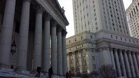 Supreme Court NYC Royalty Free Stock Photo