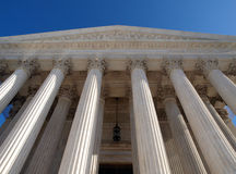 Supreme Court Pillars Royalty Free Stock Photography