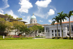 Supreme Court in Singapore. The building was the last structure in the style of classical victorian architecture to be built in th Stock Image