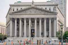 The supreme court of the State of New York Royalty Free Stock Photo