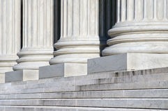 Supreme Court Steps Royalty Free Stock Photography
