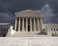 Supreme Court Storm Royalty Free Stock Photography