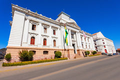 Supreme Court, Sucre. Supreme Court Of Bolivia In Sucre is located in Sucre, the constitutional capital of Bolivia Royalty Free Stock Photo