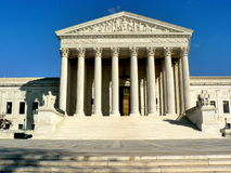 Supreme Court of the United States. In Washington, D.C Royalty Free Stock Image