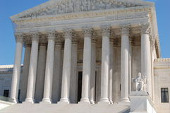 The Supreme Court of the United States Stock Images