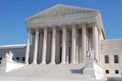 The Supreme Court of the United States Stock Photo