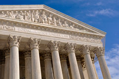 Supreme Court of United States Royalty Free Stock Photo
