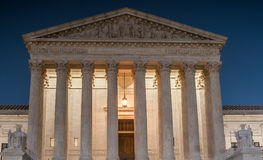 Supreme Court of the United States of America Stock Image