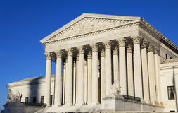 Supreme Court. The United States Supreme Court building, Washington DC Royalty Free Stock Photography