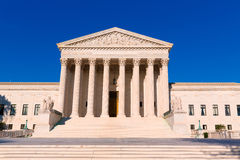 Supreme Court United states building Washington Stock Image