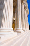 Supreme Court of United states columns row Stock Photography