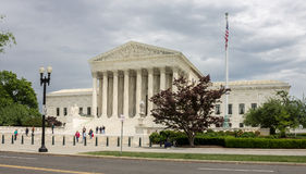 Supreme Court of the United States Royalty Free Stock Photography