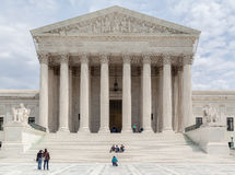 Supreme Court of the United States Stock Photography