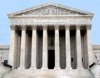 Supreme Court of the United States Royalty Free Stock Photo