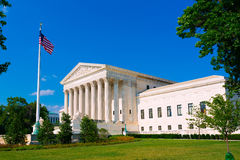 Supreme Court  United states in Washington Stock Image