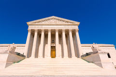 Supreme Court  United states in Washington Royalty Free Stock Photography