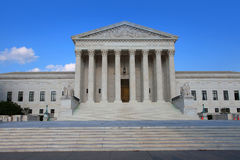 Supreme court. United states supreme court in Washington, DC Royalty Free Stock Images