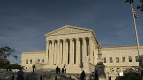 Supreme Court of the United States. In Washington, DC stock video footage