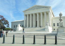 Supreme Court of the United States. Washington DC COURT SUPREME DES ETATS UNIS Stock Images