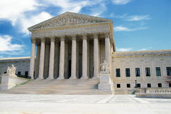 Supreme Court. The US Supreme Court in Washington DC stock image