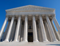 Supreme Court USA. Historic Supreme Court building in Washington DC Stock Photography