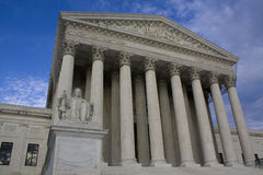 Supreme Court in Washington, D.C. Stock Photography