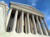 Supreme Court Washington DC Stock Image