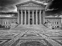 Supreme Court. In Washington DC Stock Photos