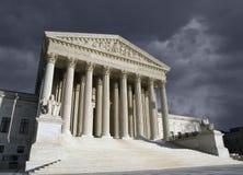 Supreme Court Washington DC Storm Royalty Free Stock Photos