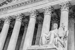 Supreme Court Washington DC Royalty Free Stock Photos