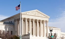 Supreme Court Washington DC USA Royalty Free Stock Photography