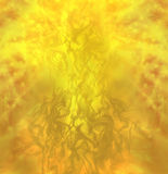 Supreme Divinity Manifestation -. A formless gaseous golden manifestation Royalty Free Stock Image