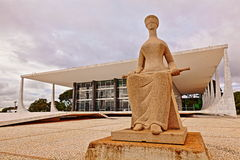 Supreme Federal Court in Brasilia Stock Photo