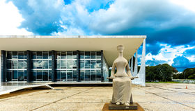 Supreme Federal Tribunal in Brasilia, Brazil Royalty Free Stock Images