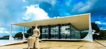 Supreme Federal Tribunal in Brasilia, Brazil.  Stock Images