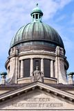 Supreme Hanseatic Court of Hamburg Royalty Free Stock Photos