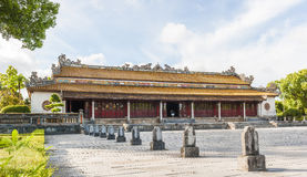 Supreme Harmony Palace at Citadel of Hue Stock Photos
